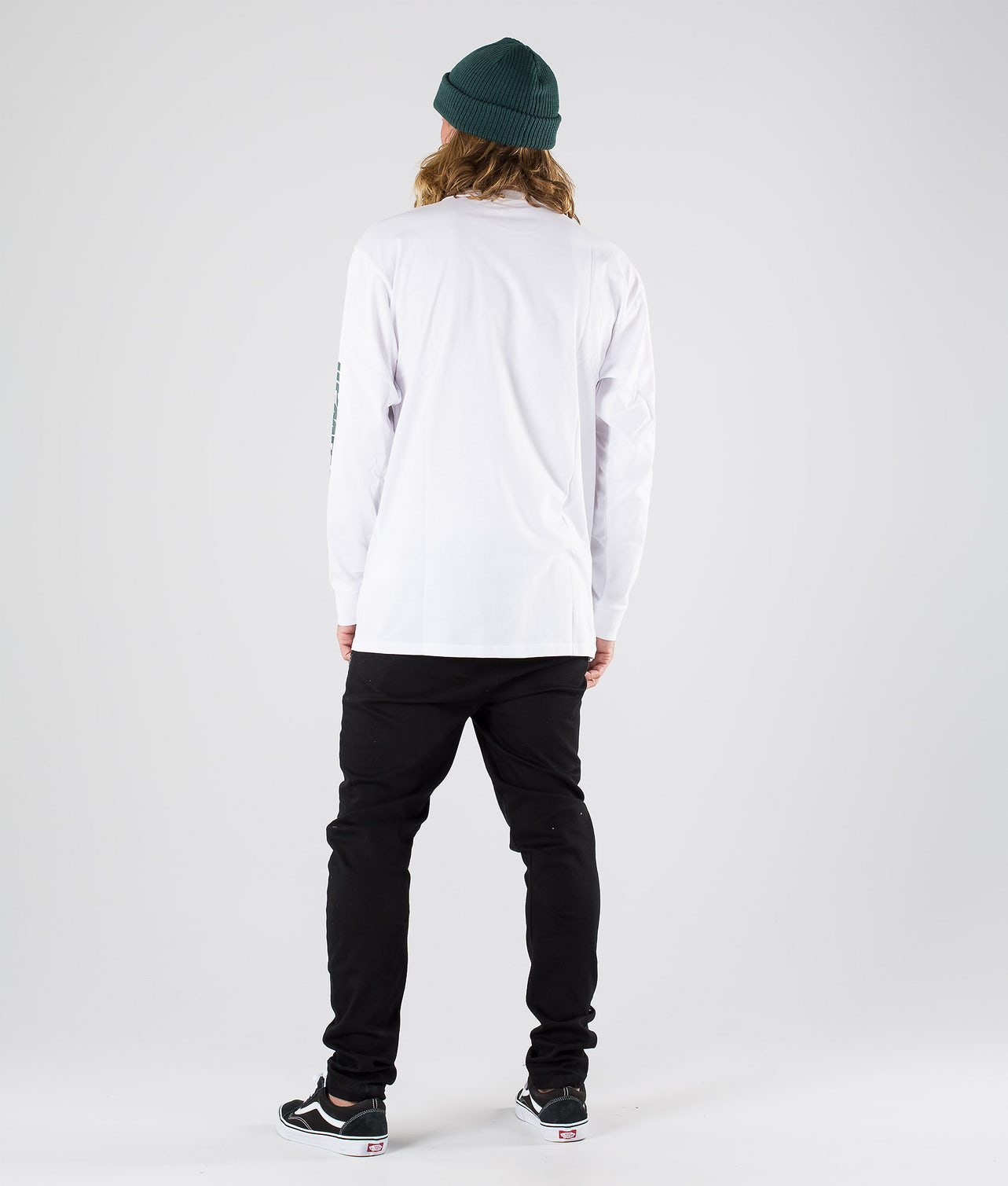 Vans Distorted Performance Longsleeve White