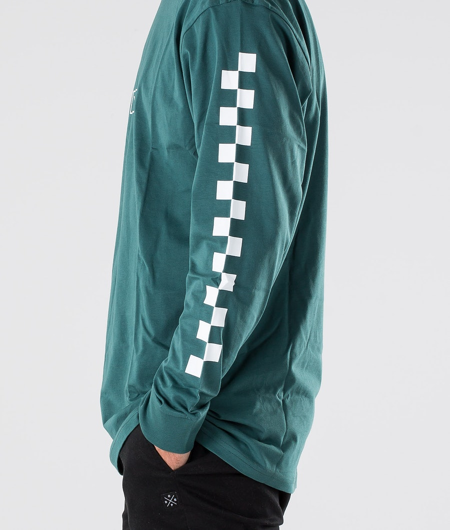 Vans Easy Box Checker Longsleeve Vans Trekking Green/White