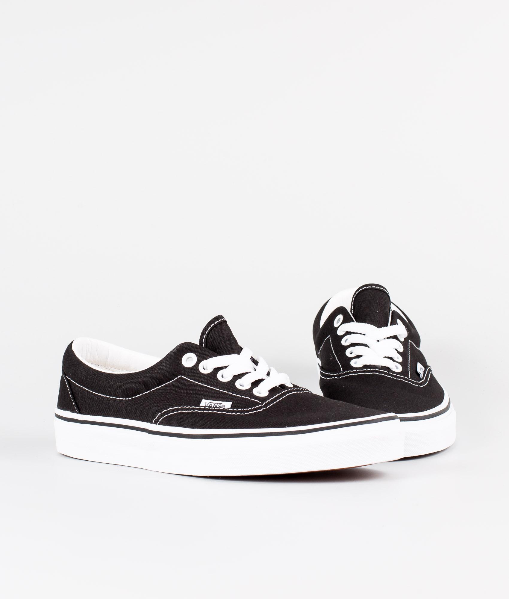 Vans Era Shoes Black - Ridestore.com