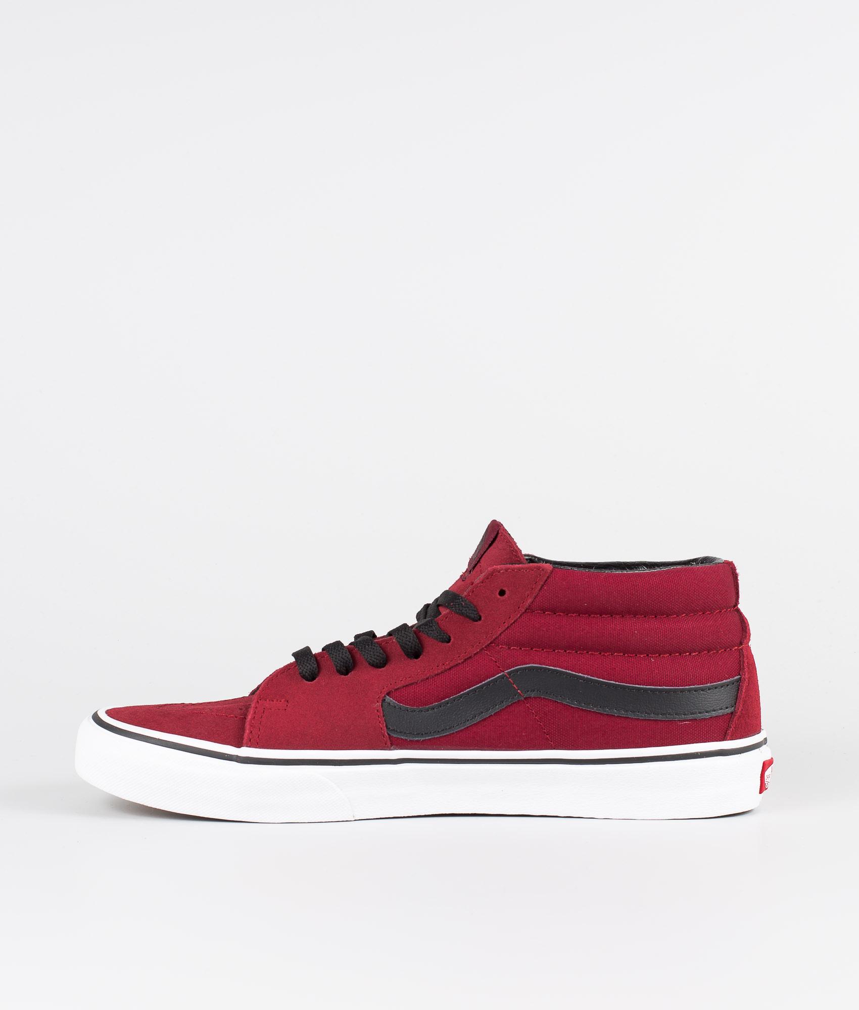 Vans Sk8-Mid Shoes Biking Red/True