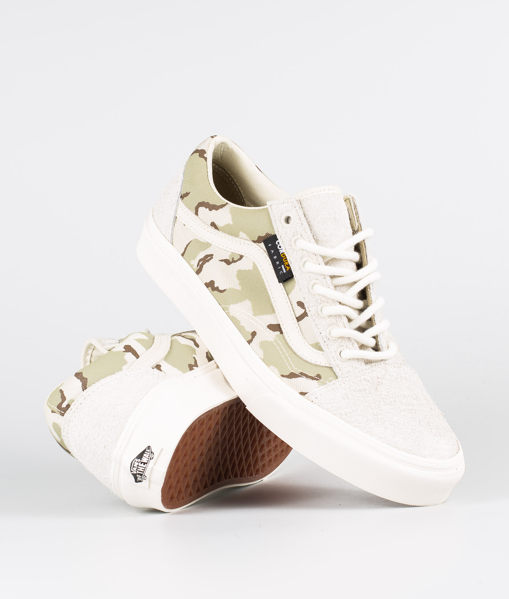 Vans Old Skool Shoes (Cordura) White AsparagusCamo