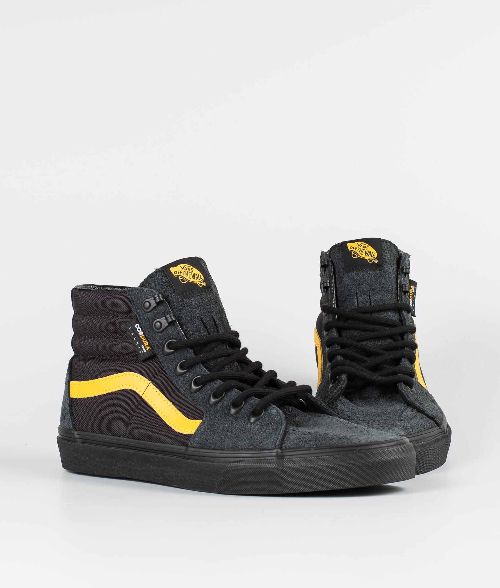 Vans Sk8 Hi Skor (Cordura) Black