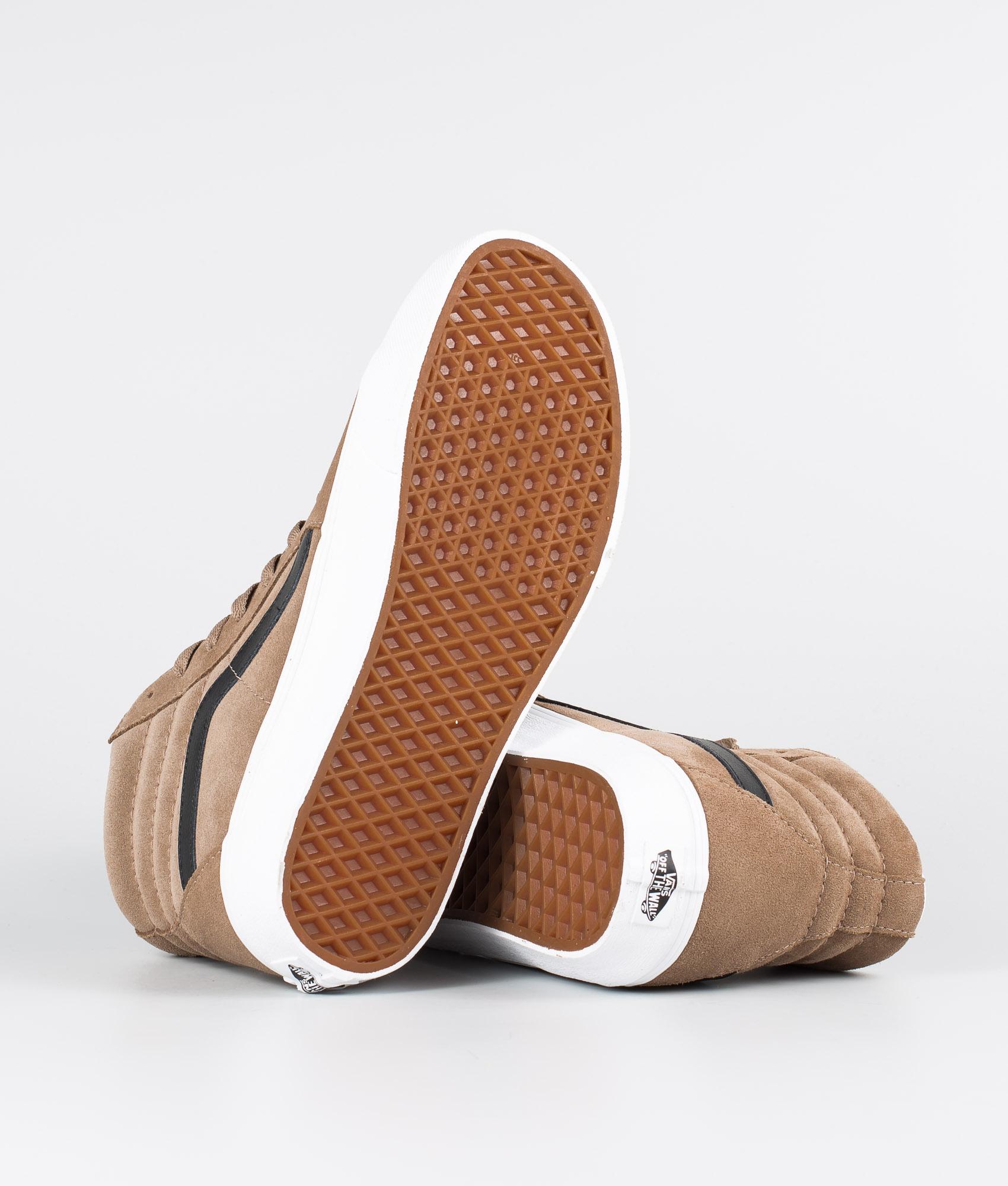 Vans Sk8 Hi Schuhe (Suede) PortabellaTrue White