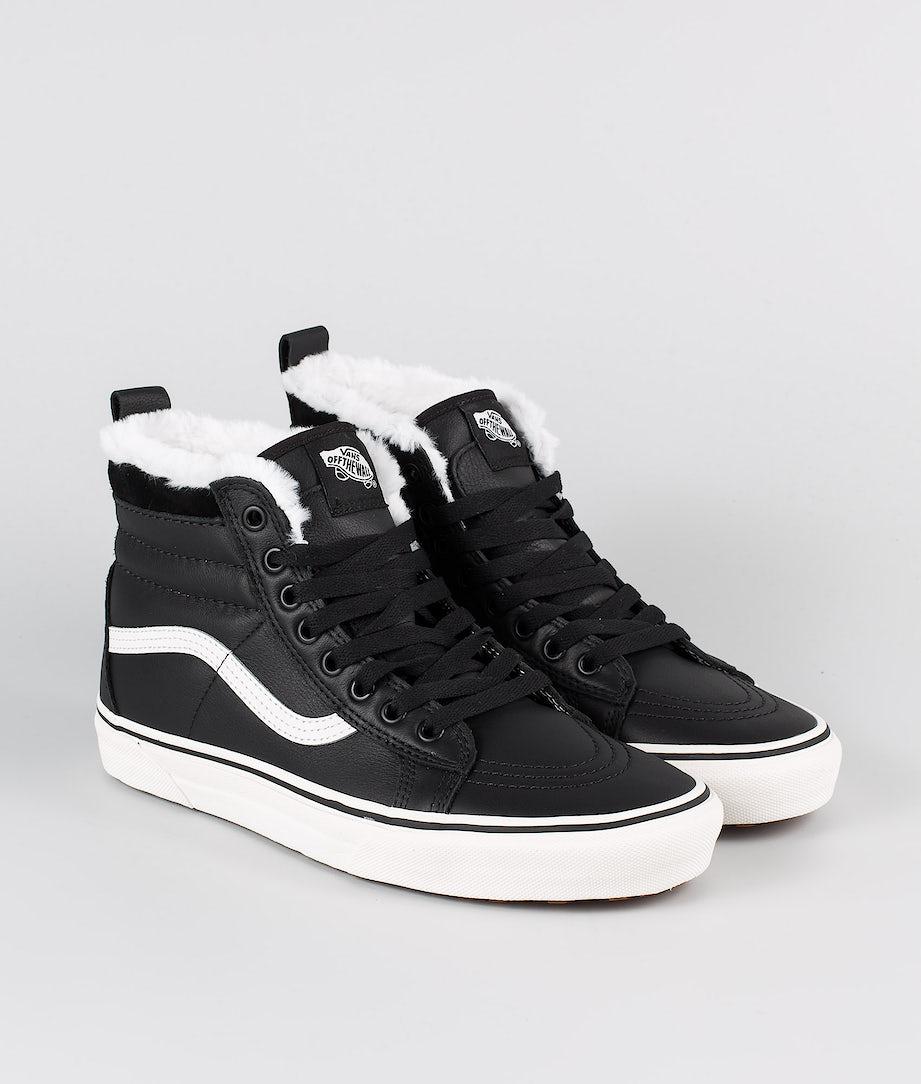 Vans Sk8-Hi MTE Shoes (MTE) Leather/Black/True White