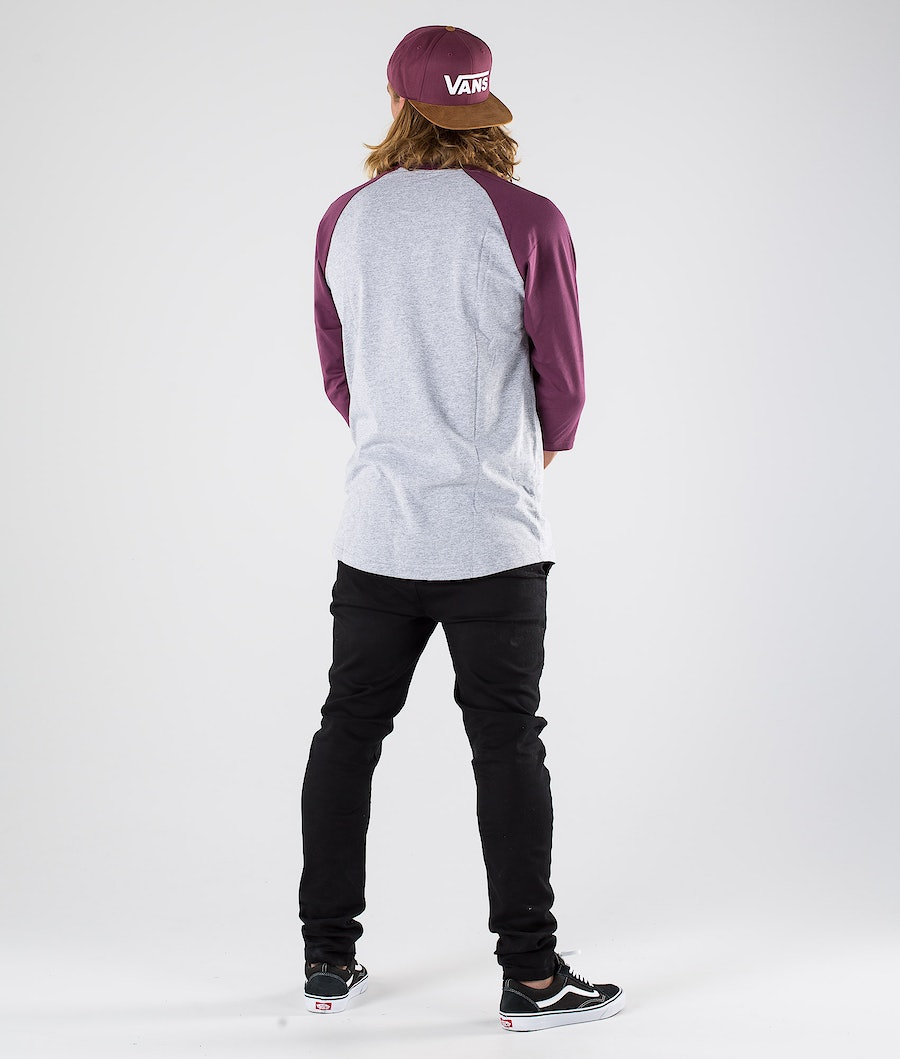 Vans Vans Classic Raglan T-shirt Athletic Heather/Prune