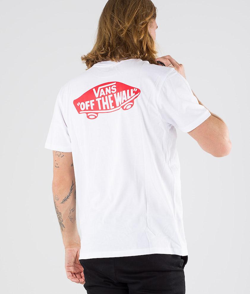 Vans Otw Classic T-shirt White/Hibiscus