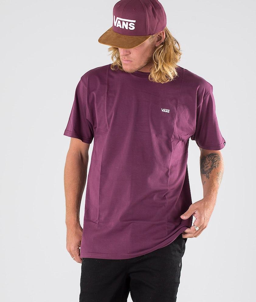 Vans Left Chest Logo T-shirt Prune