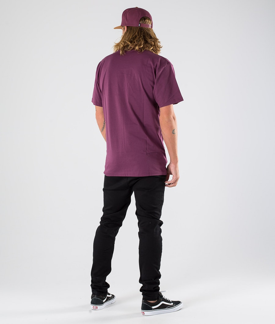 Vans Left Chest Logo T-shirt Prune