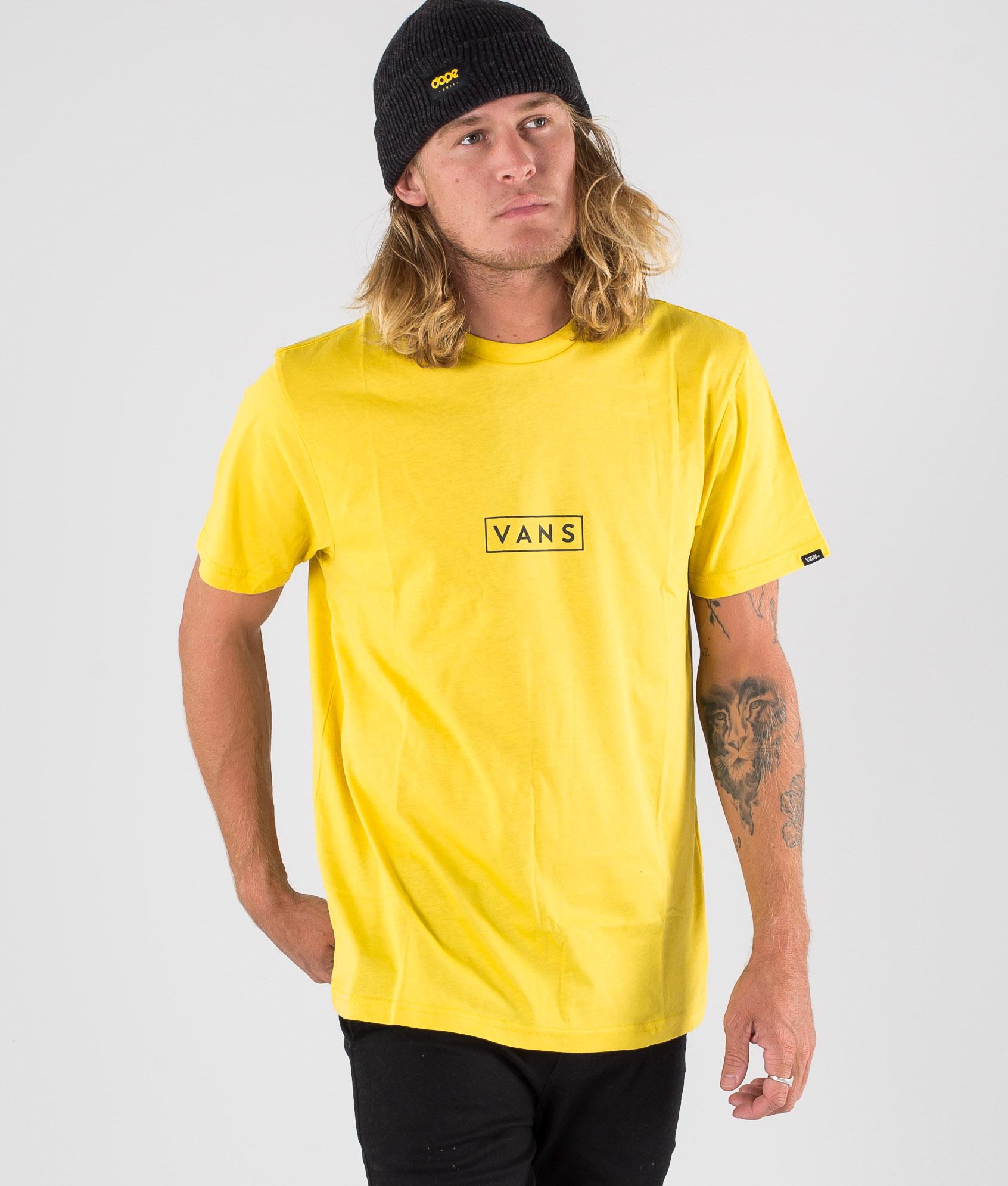 Vans Vans Easy Box T shirt SulphurBlack
