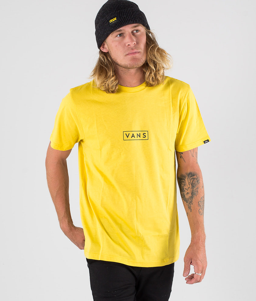 Vans Vans Easy Box T-shirt Sulphur/Black