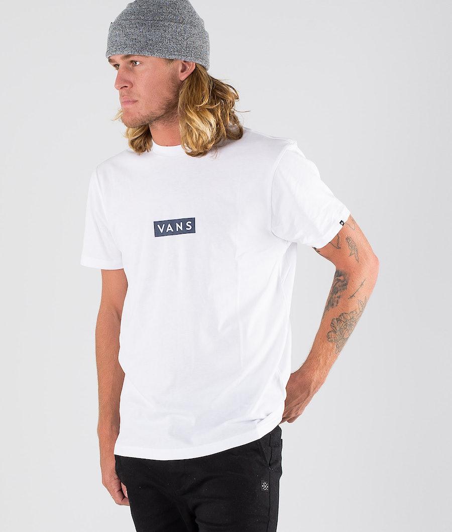 Vans Vans Easy Box T-shirt White/Dress Blues