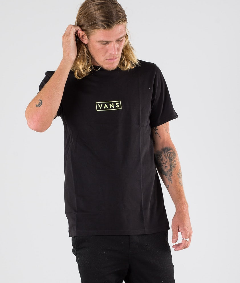 Vans Vans Easy Box T-shirt Black/Sharp Green