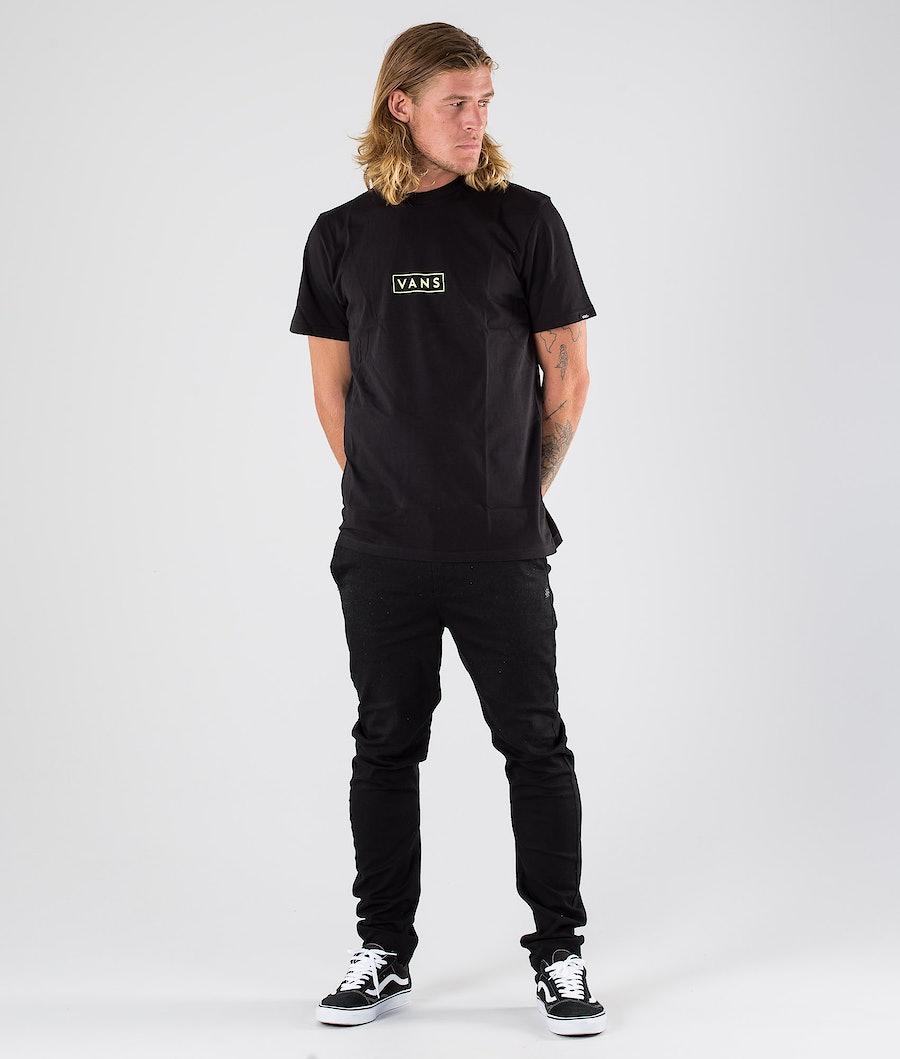 Vans Vans Easy Box T-shirt Black/Sharp Green