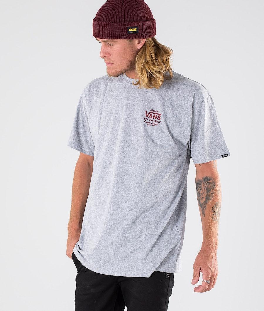 Vans Holder St Classic T-shirt Athletic Heather/Biking Red