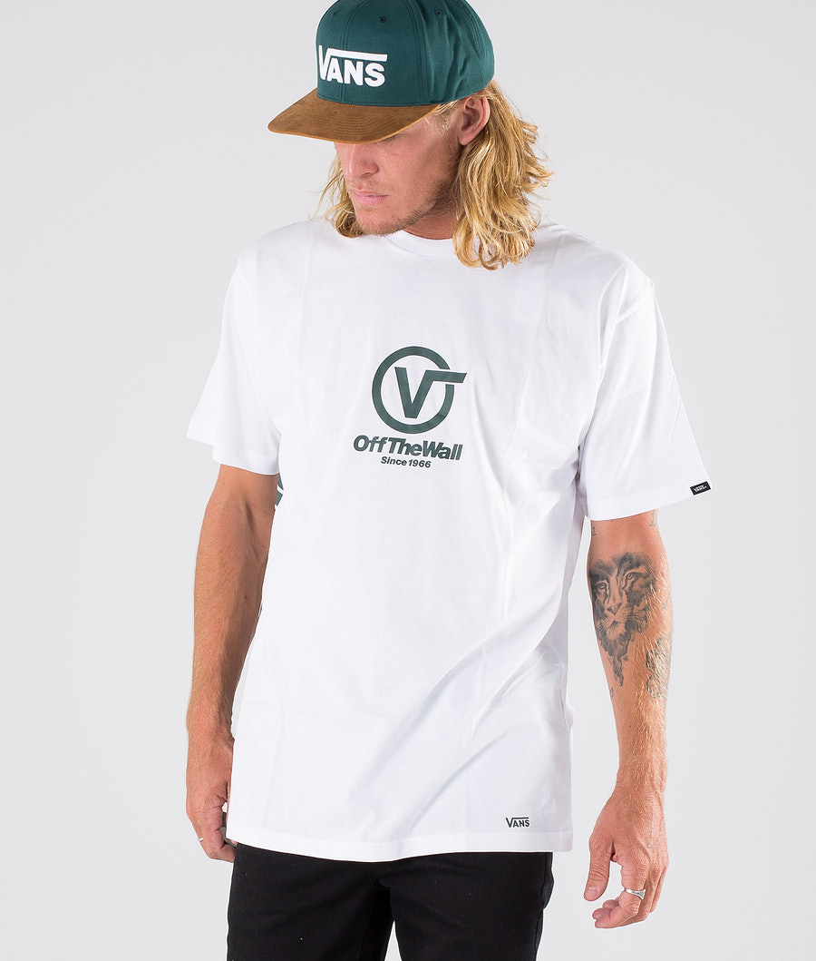 Vans Distort Performance T-paita White