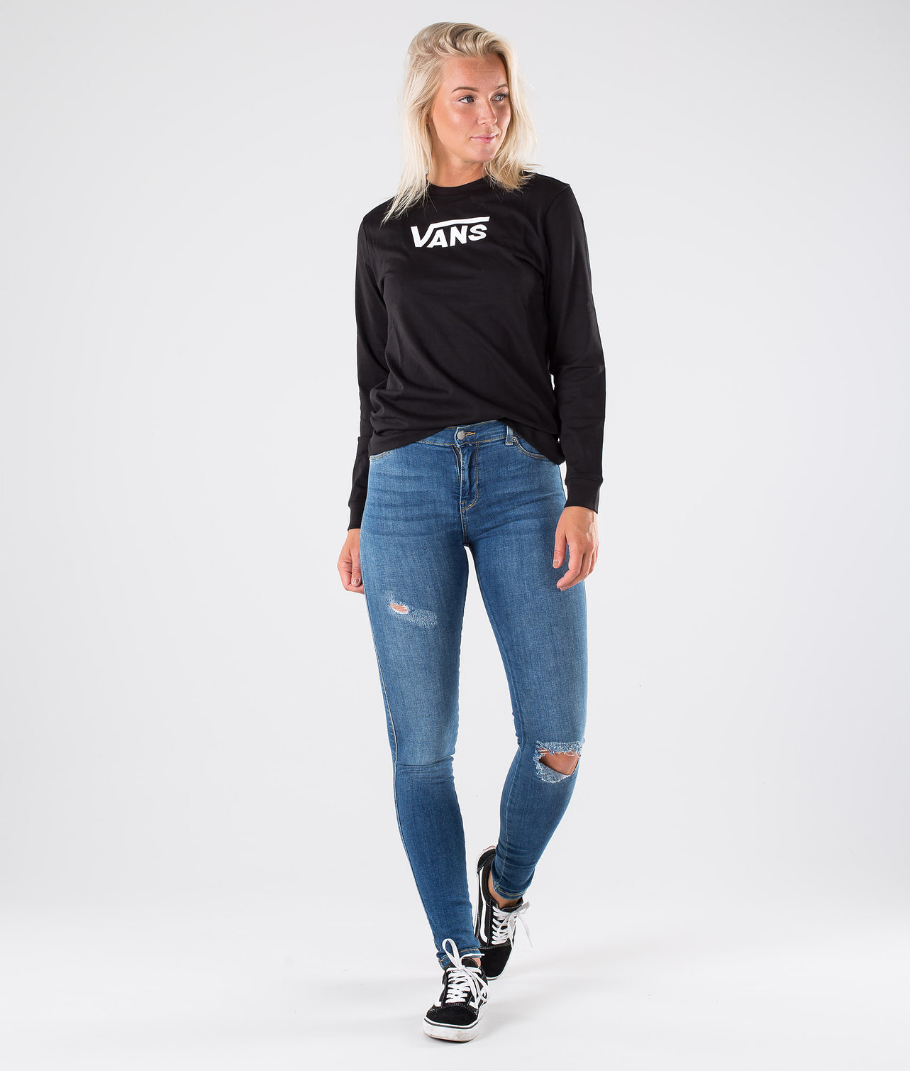 Vans Flying V Clasic BF Longsleeve Black