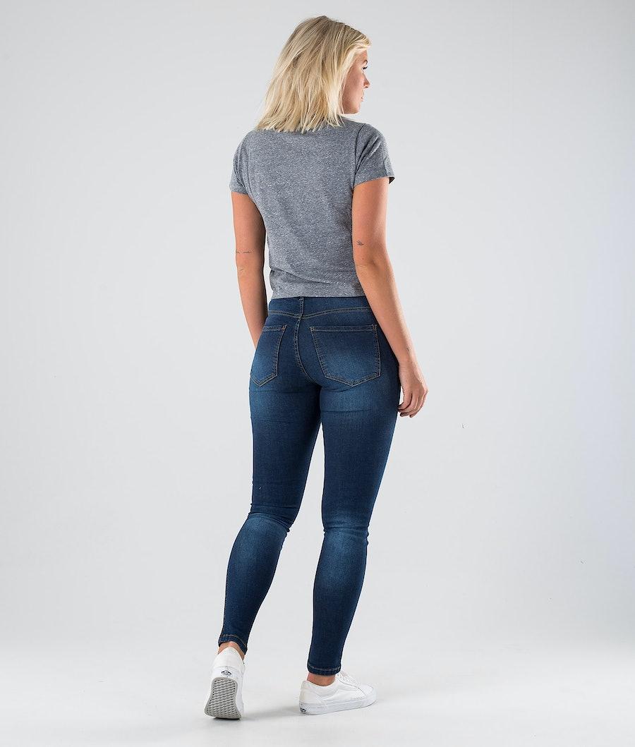 Vans Trifecta T-shirt Dame Grey Heather