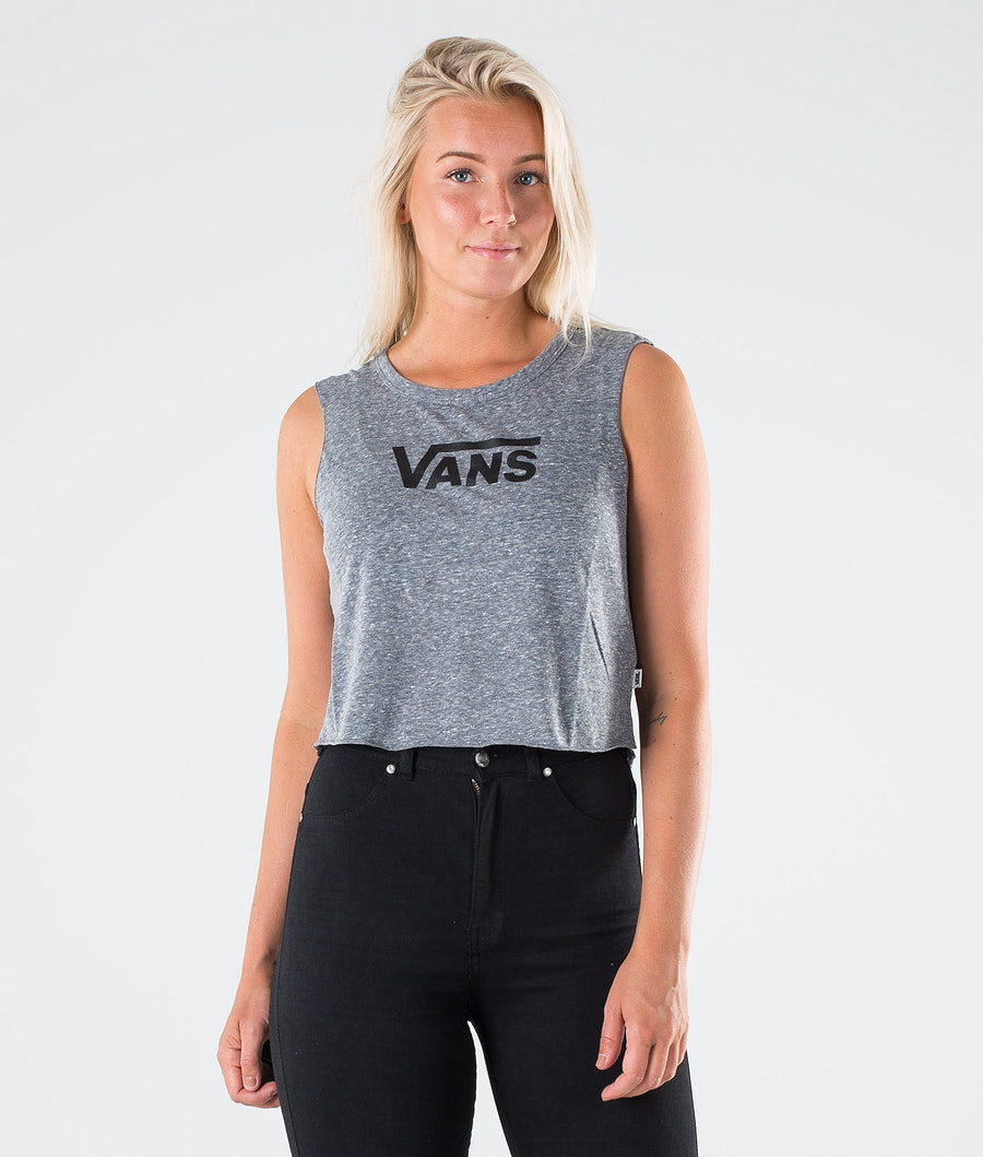 Vans Flying V Classic Muscle T-shirt Grey Heather