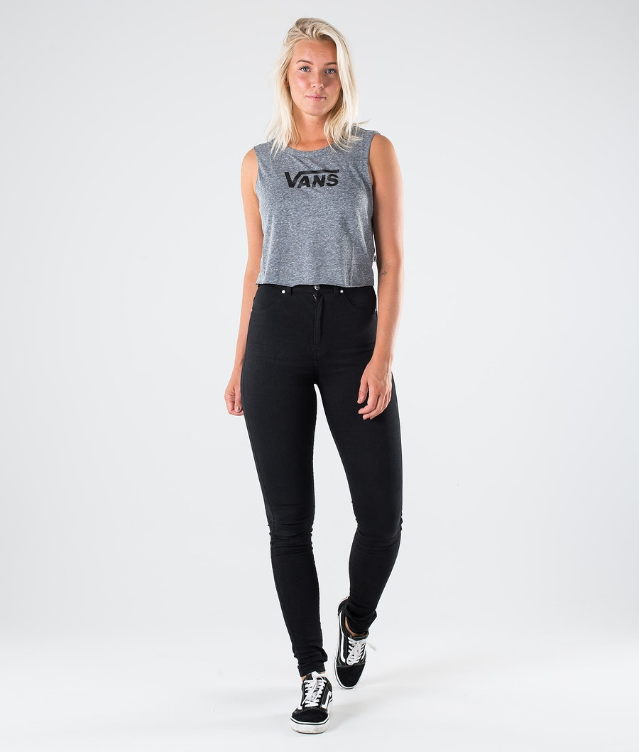 Vans Flying V Classic Muscle T-shirt Dam Grey Heather