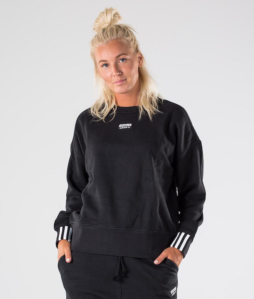 Adidas Originals Sweatshirt. Gensere Black