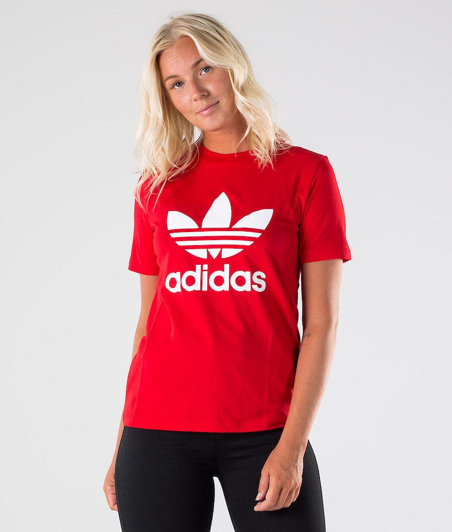 Adidas Originals Trefoil T-shirt Scarlet