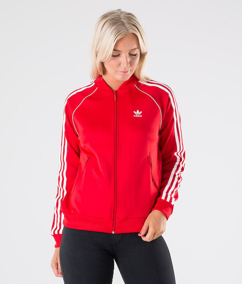 Adidas Originals SST TT Tröja Scarlet