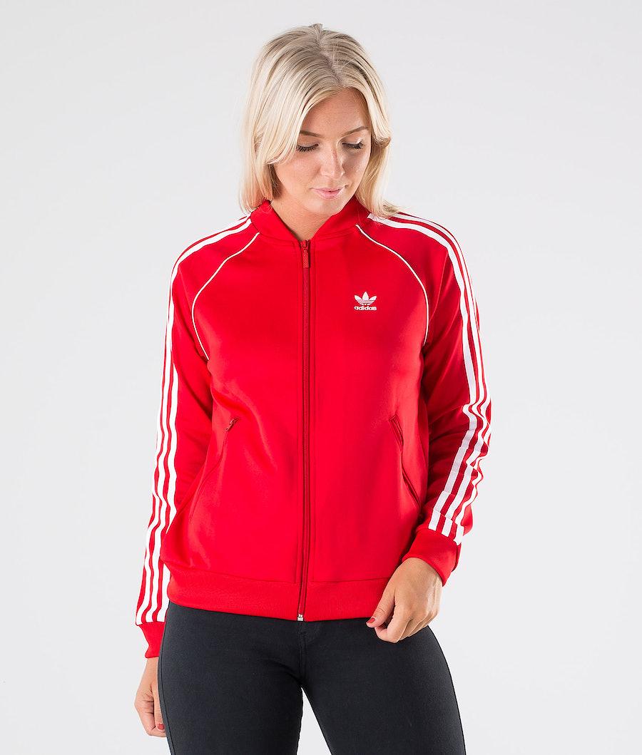 Adidas Originals SST TT Gensere Scarlet