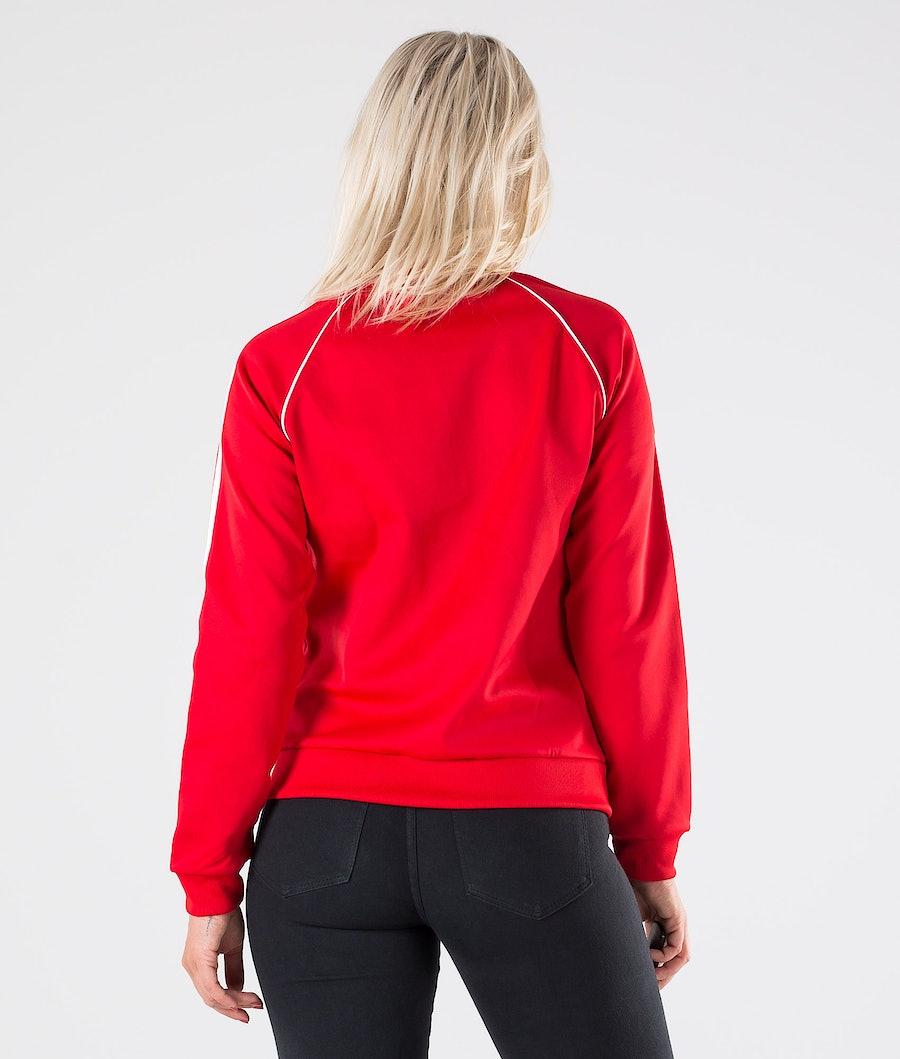 Adidas Originals SST TT Tröja Dam Scarlet