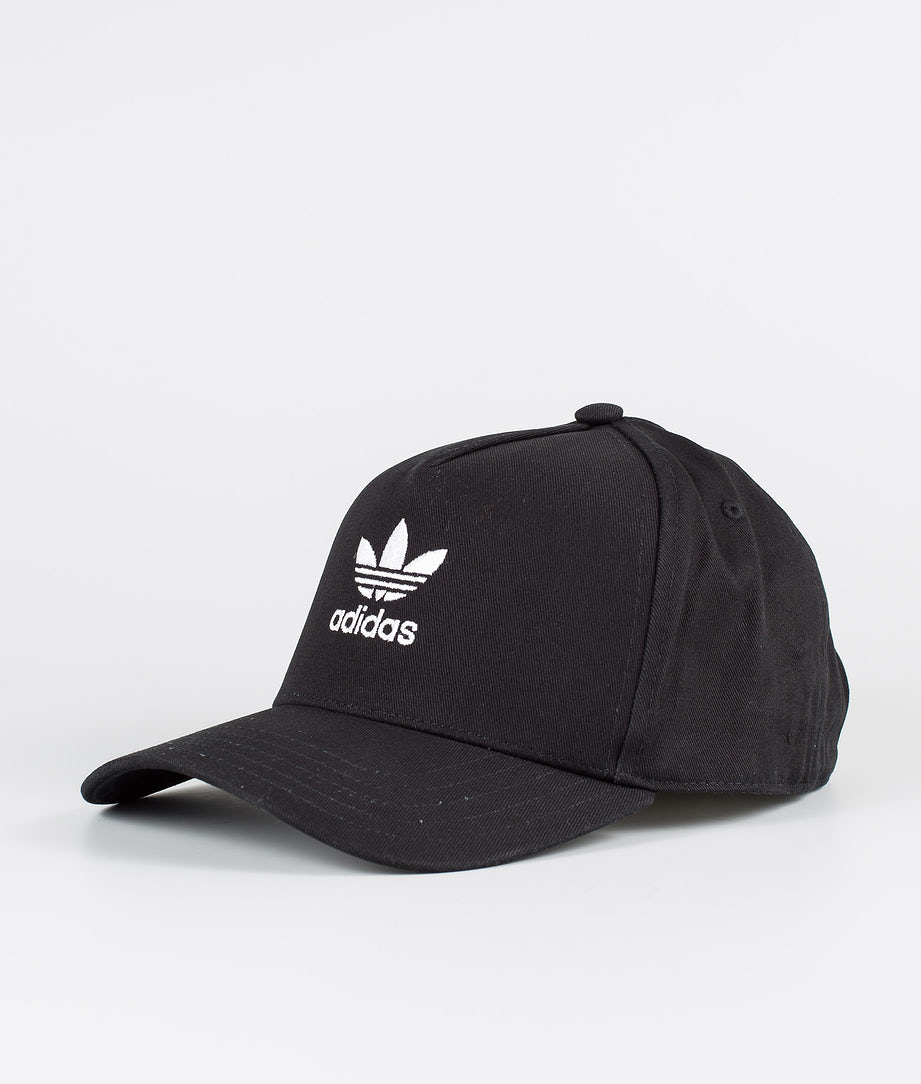 Adidas Originals Adicolor Closed Trucker Curved Casquette Black