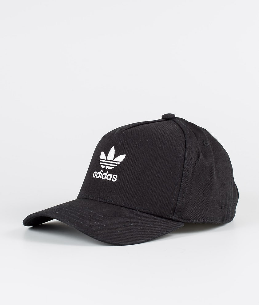 Adidas Originals Adicolor Closed Trucker Curved Keps Black