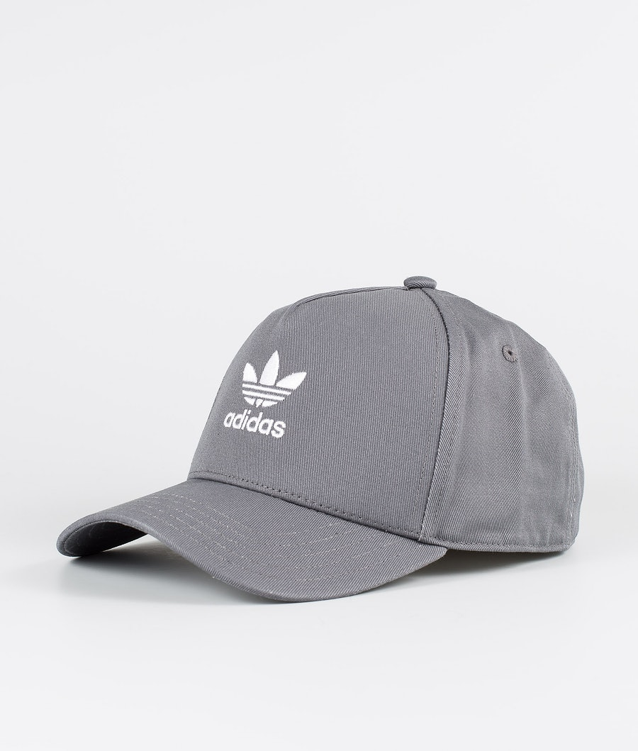 Adidas Originals Adicolor Closed Trucker Curved Casquette Grey Five