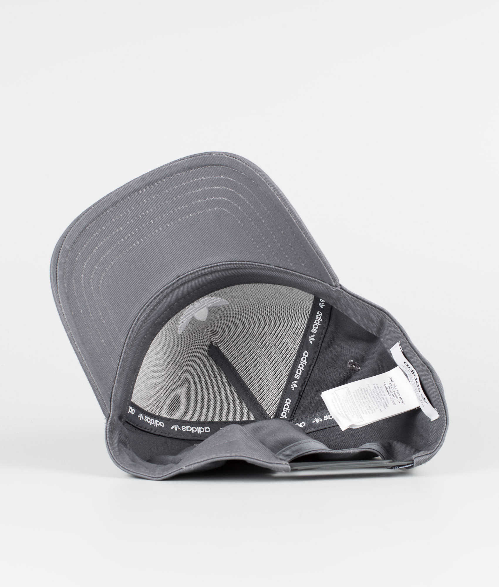 Adidas Originals Adicolor Closed Trucker Curved Caps Grey Five