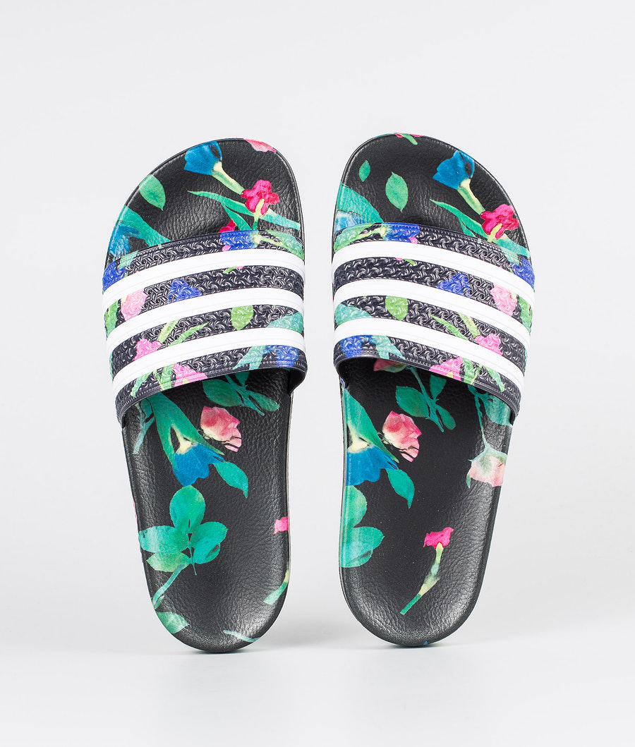 Adidas Originals Adilette W Schuhe Core Black/Footwear White/Core Black