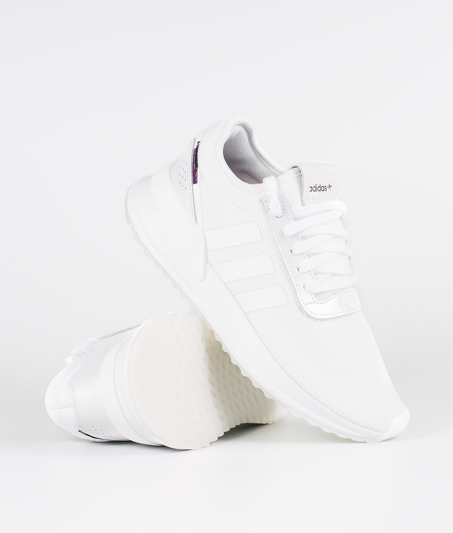 Adidas Originals U_Path X W Skor Ftwr White/Purple Beauty/Core Black