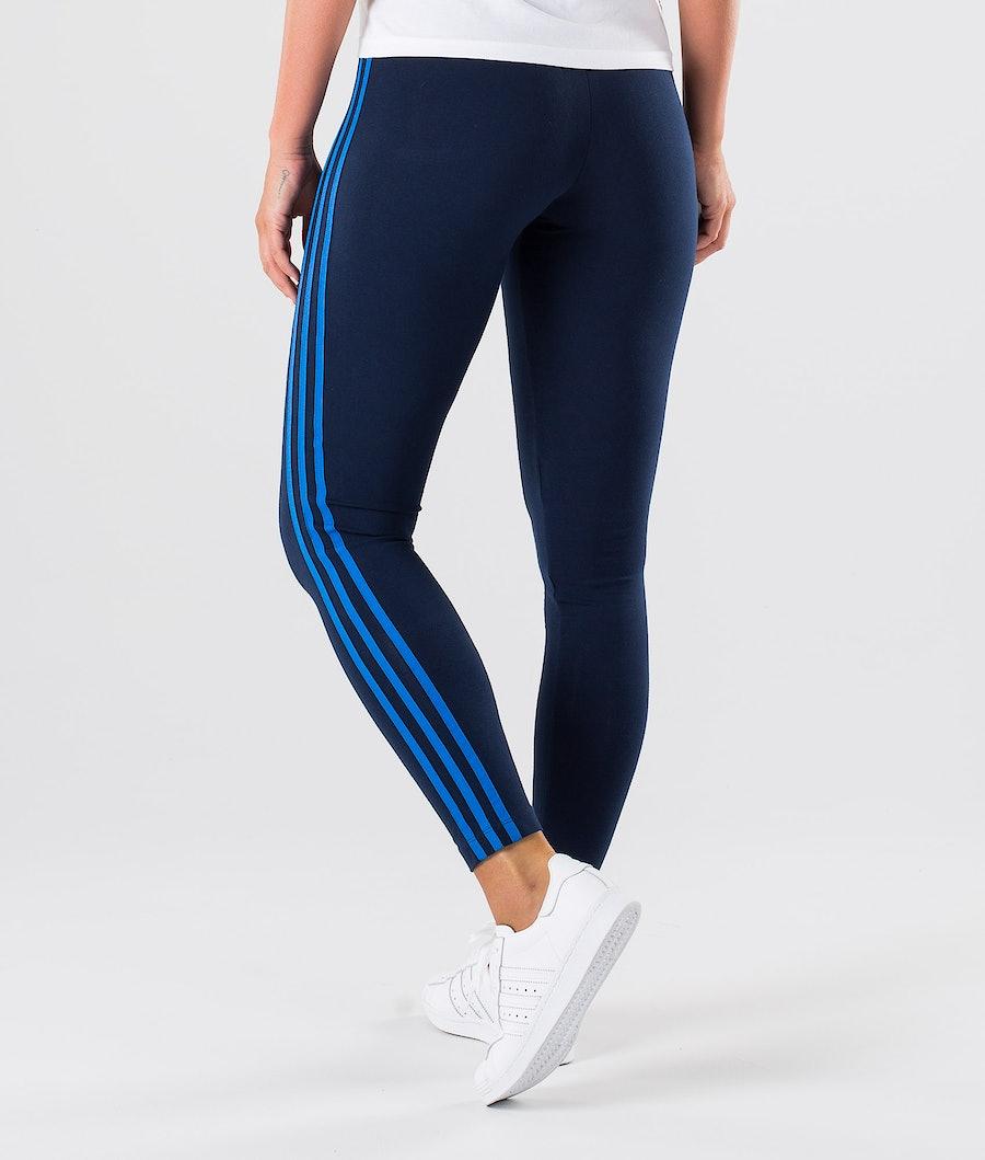 Adidas Originals 3-Stripes Leggings Femme Collegiate Navy/Bluebird