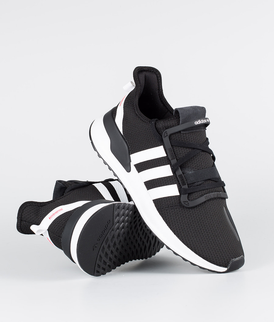 Adidas Originals U_Path Run Shoes Core Black/Ftwr White/Shock Red