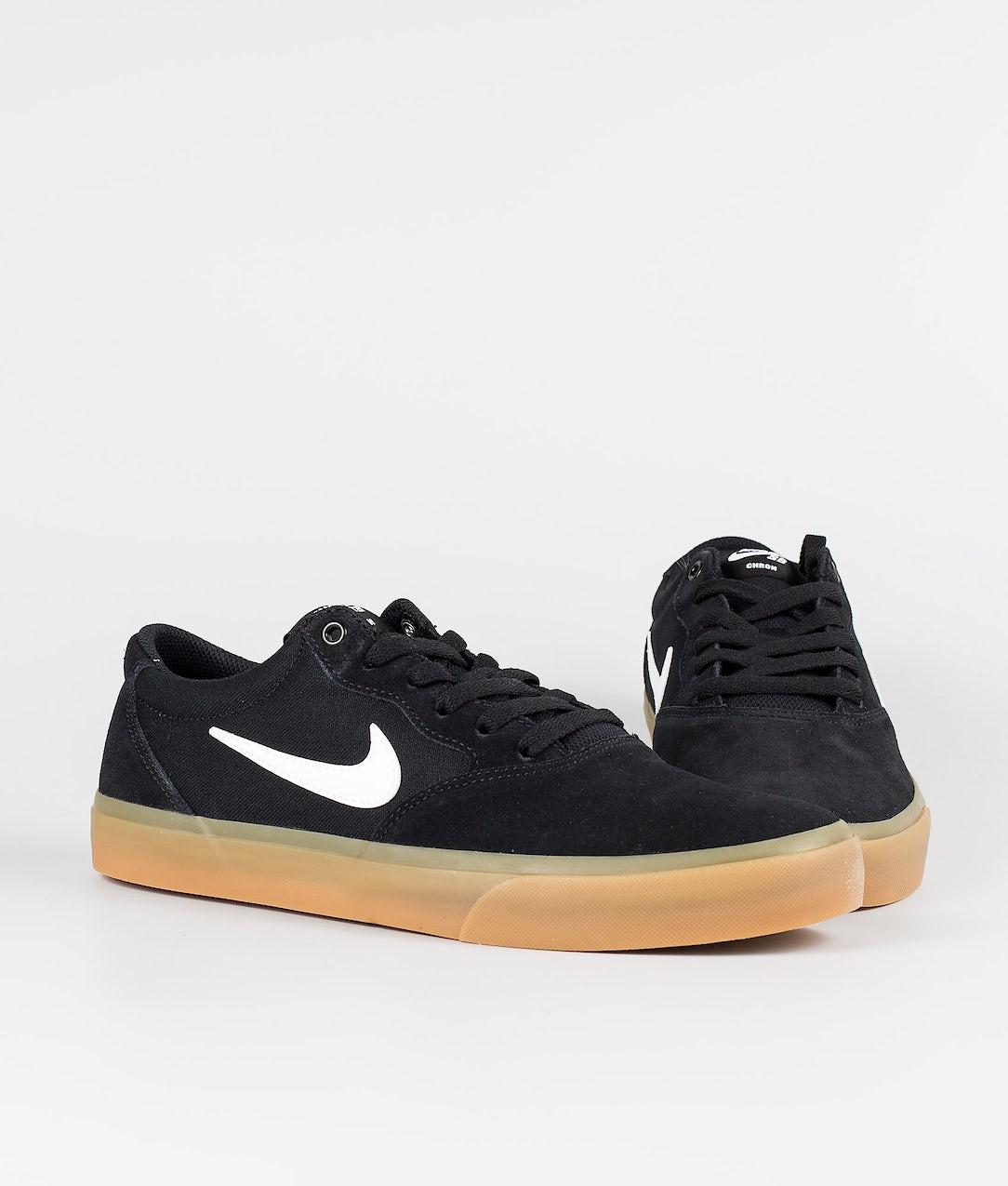 File Dare diritti capire  Nike SB Chron SLR Shoes Black/White-Black-Black - Ridestore.com