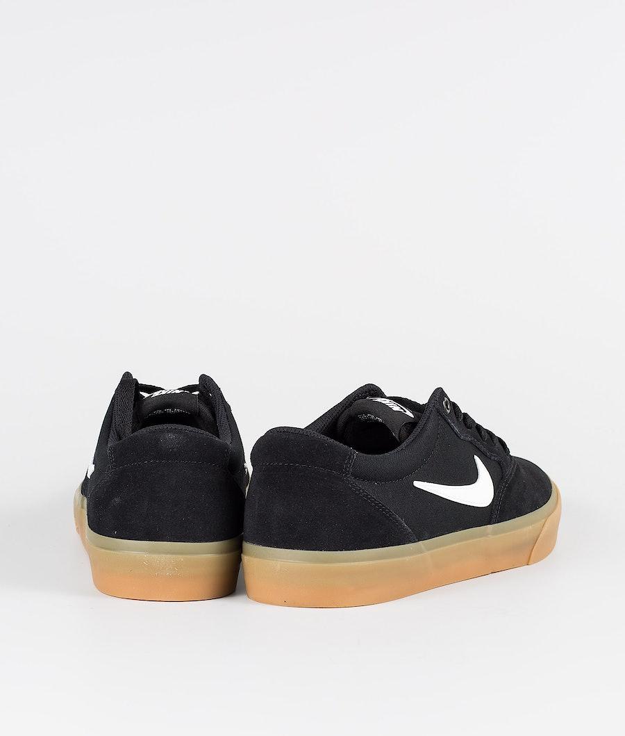 Nike SB Chron SLR Skor Black/White-Black-Black