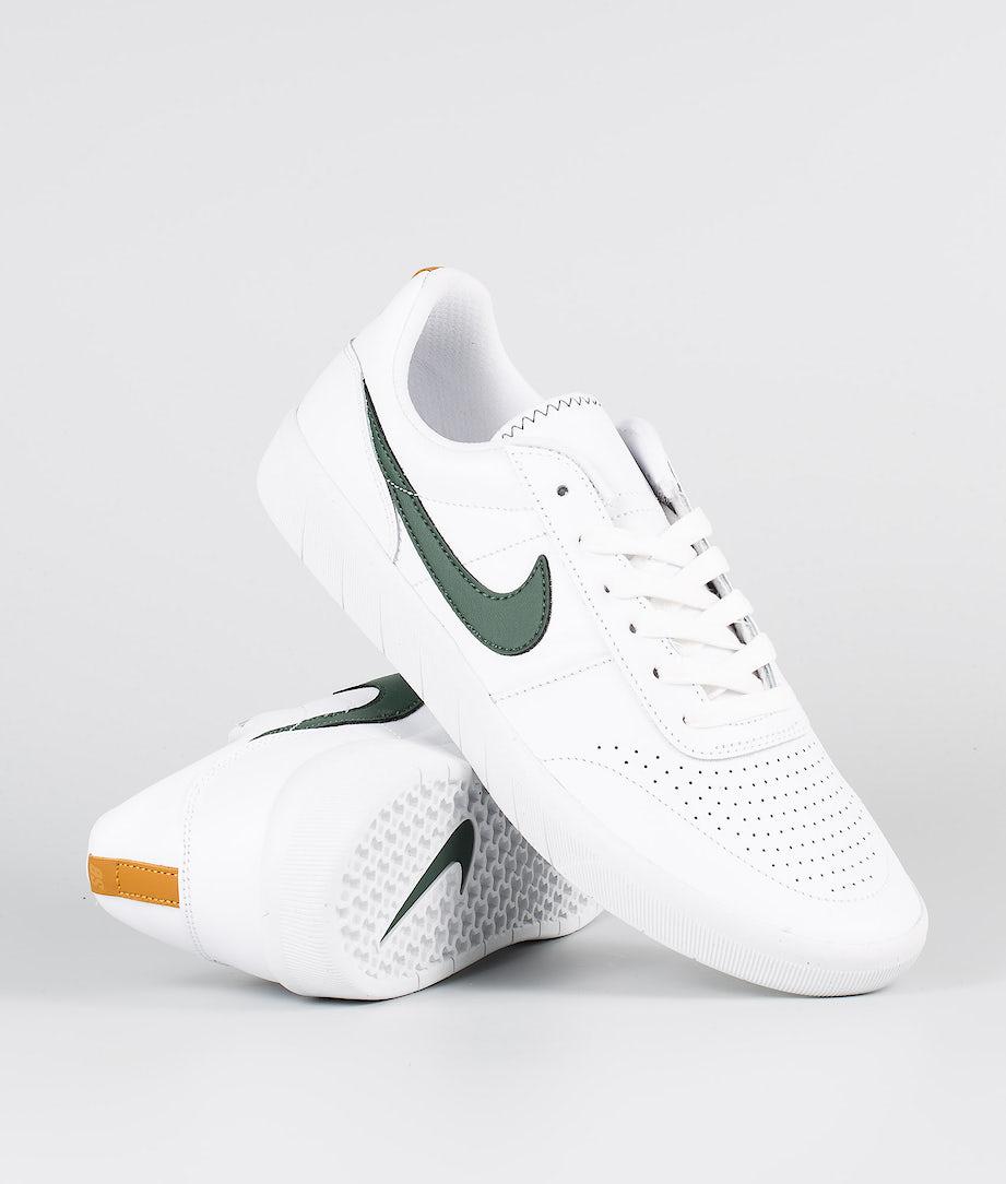 Nike SB Team Classic Prm Sko White/Galactic Jade-Desert Ochre-White
