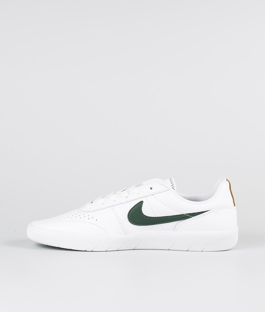 río Arte Sostener  Nike SB Team Classic Prm Shoes White/Galactic Jade-Desert Ochre-White -  Ridestore.com