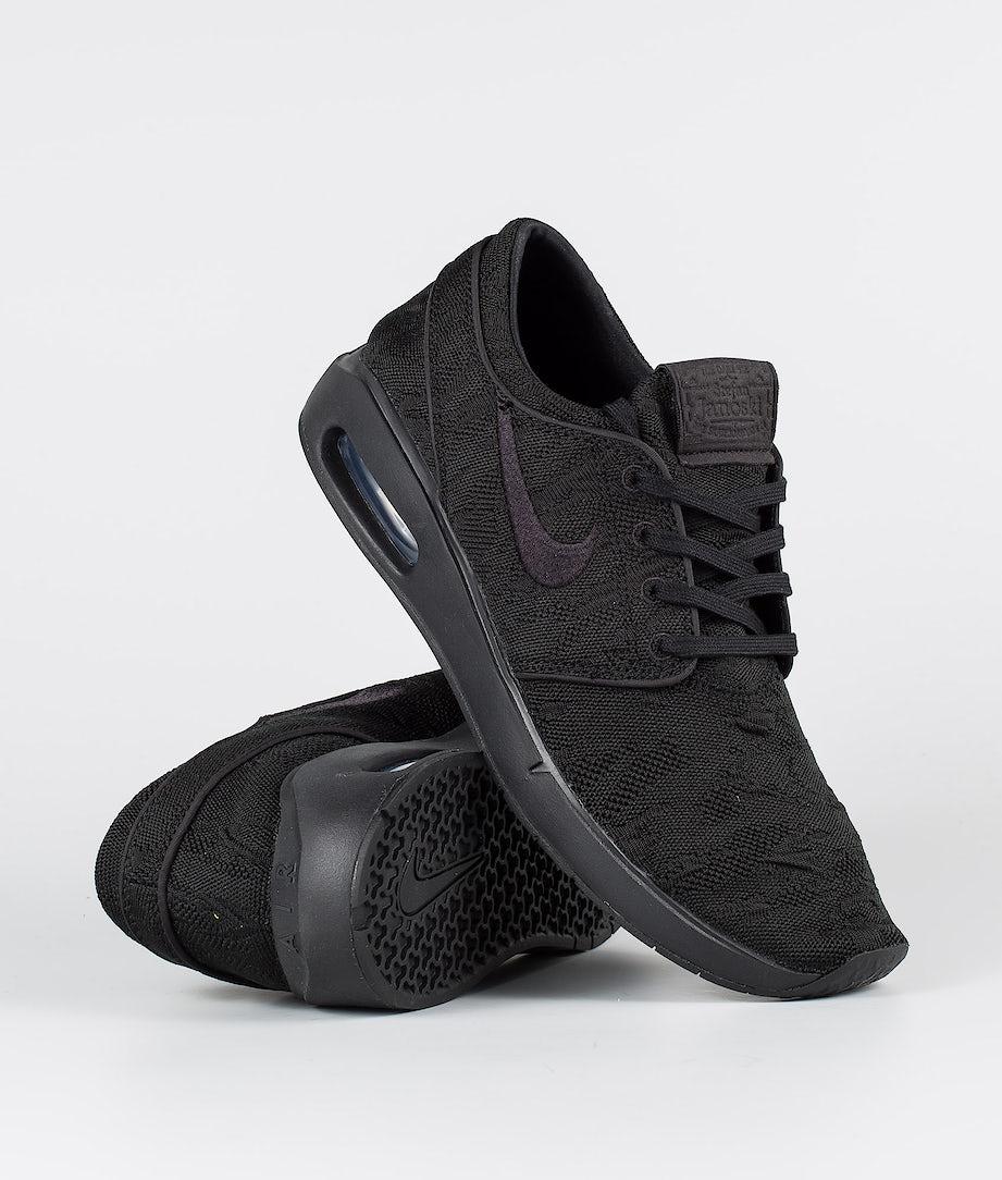 Nike SB Air Max Janoski 2 Kengät Black/Black-Black-Black