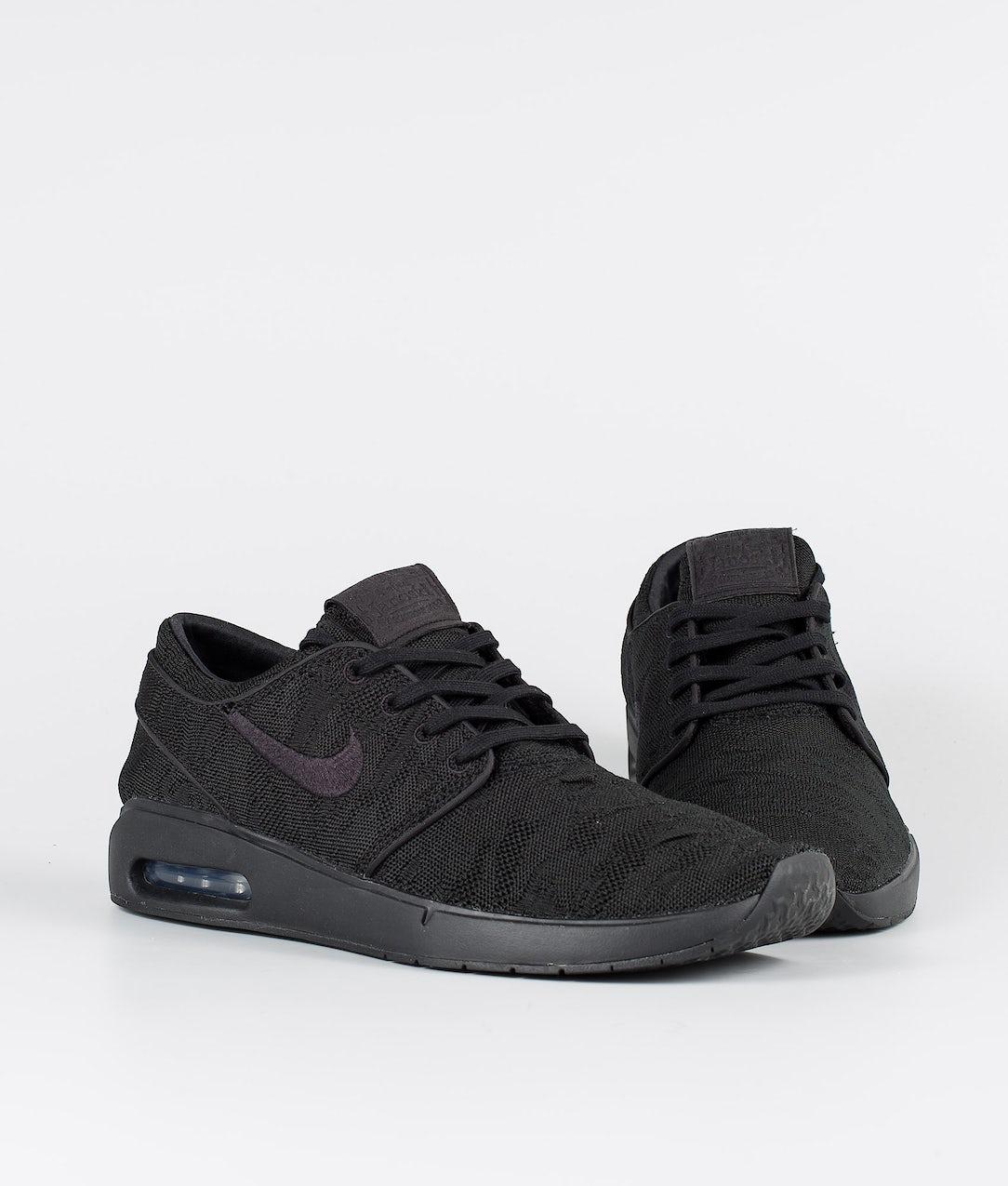 Ocurrir práctica Parlamento  Nike SB Air Max Janoski 2 Shoes Black/Black-Black-Black - Ridestore.com