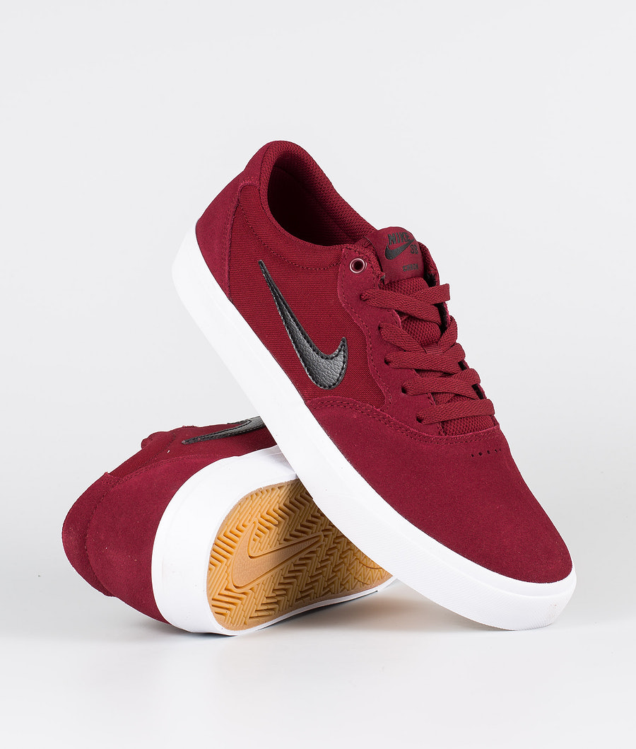 Nike SB Chron SLR Shoes Team Red/Black-Team Red-Gum Light Brown