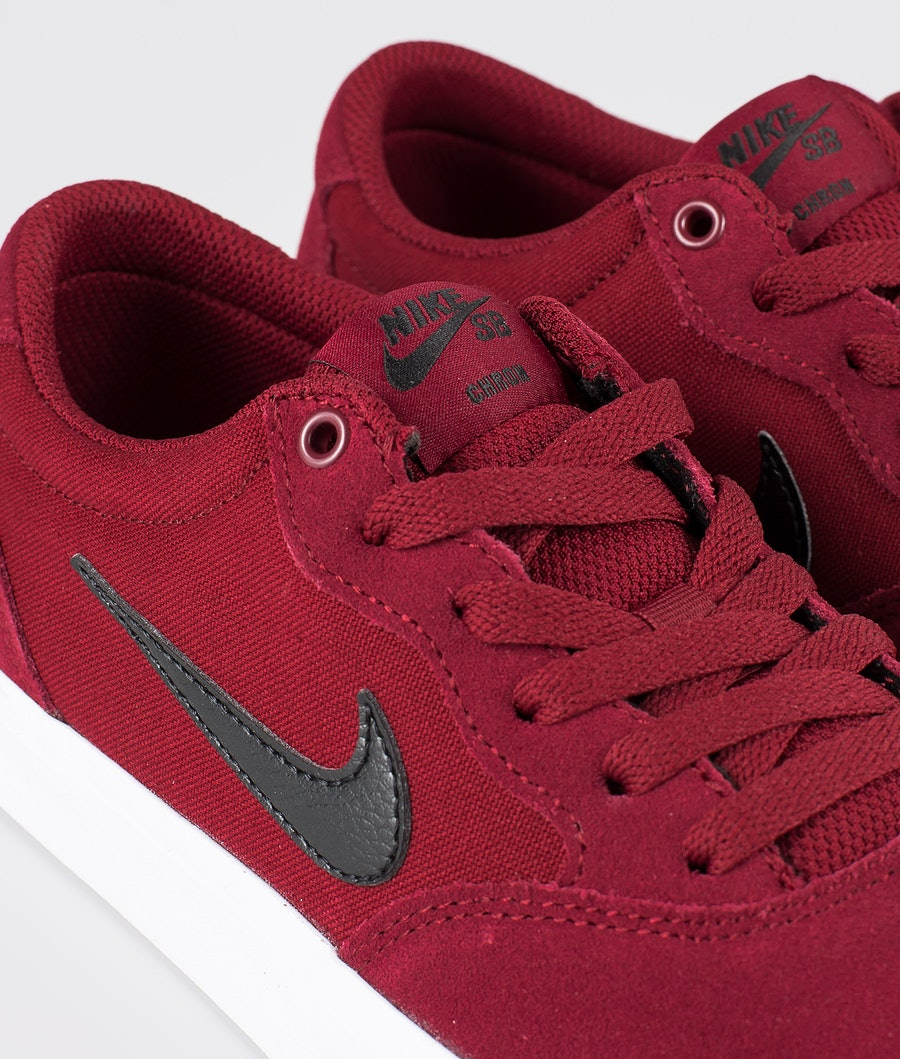 Nike SB Chron SLR Skor Team Red/Black-Team Red-Gum Light Brown