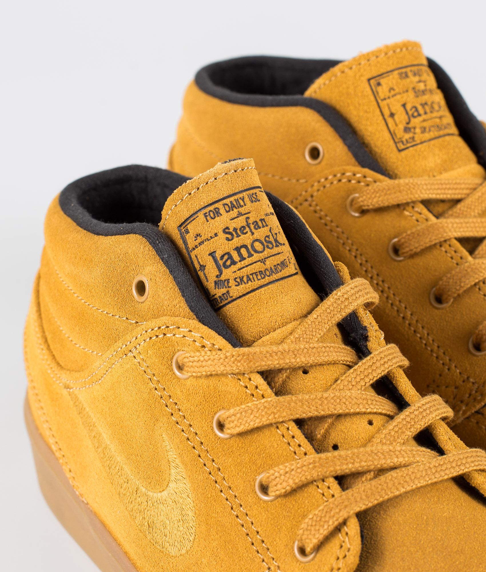 Nike SB Zoom Janoski Mid Rm Sko BlackBlack Black Black