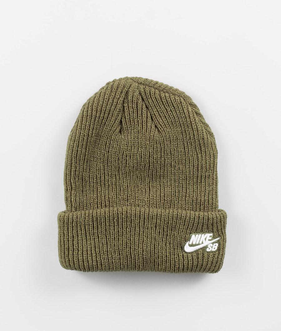 Nike Fisherman Mütze Medium Olive/White