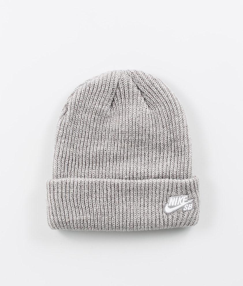 Nike Fisherman Bonnet Dk Grey Heather/White