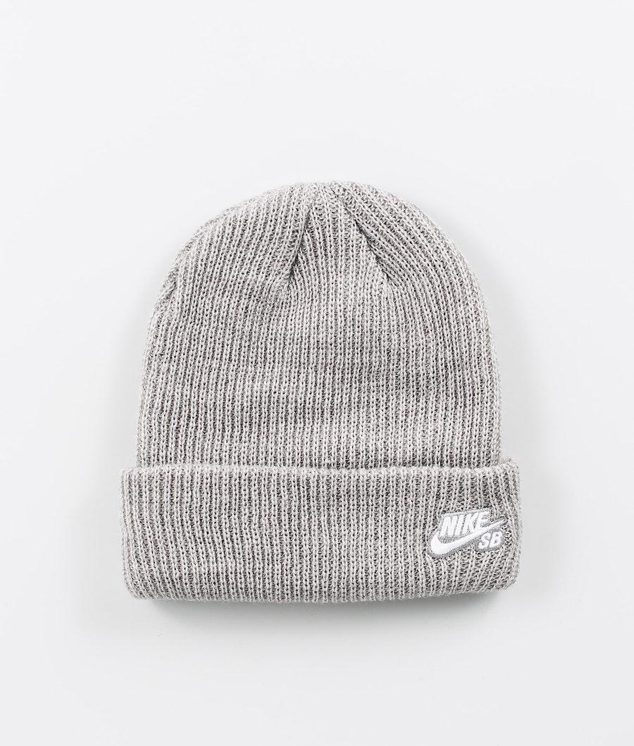 Nike Fisherman Mütze Dk Grey Heather/White
