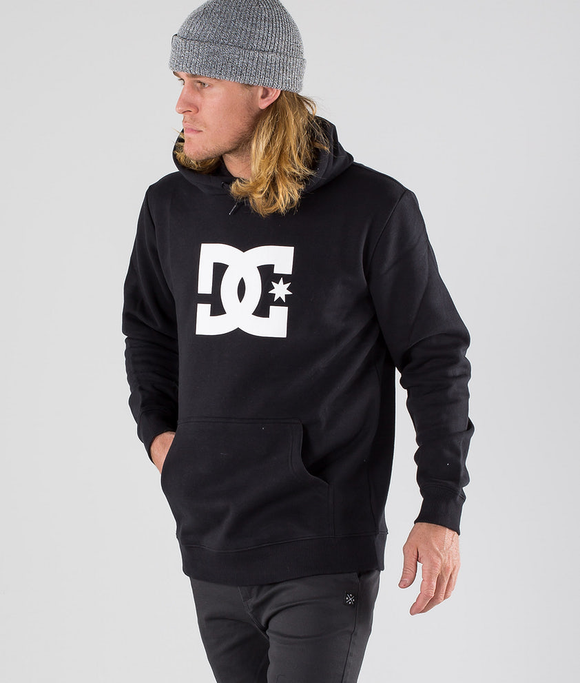 DC Star Ph Hood Black/White