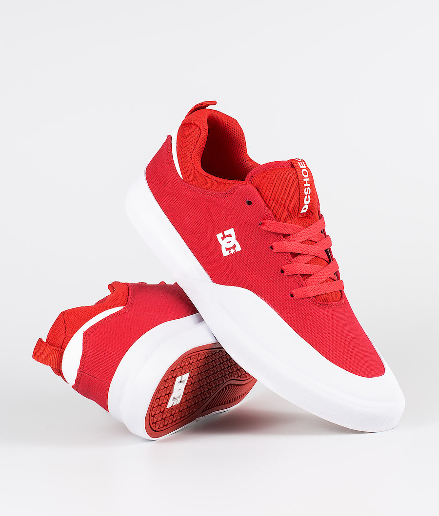 DC Infinite Tx Shoes Red/White